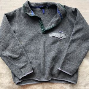 Very Loved Patagonia Synchilla Snap T
